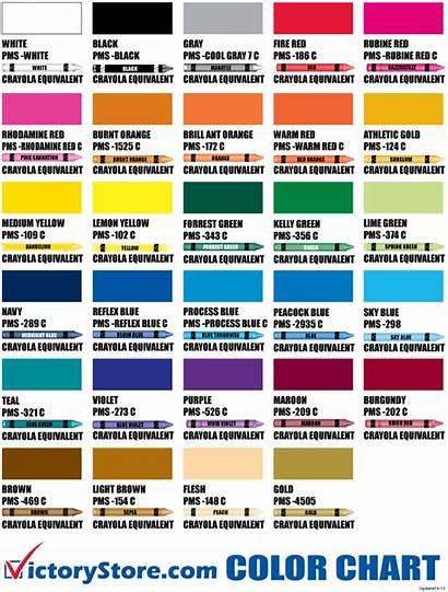 Chart Crayon Crayola Names Colors Clipart Transparent