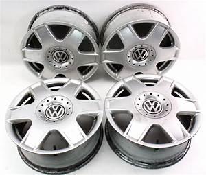 Set Of Stock Wheels Rims Alloy 5x100 16 U0026quot  99