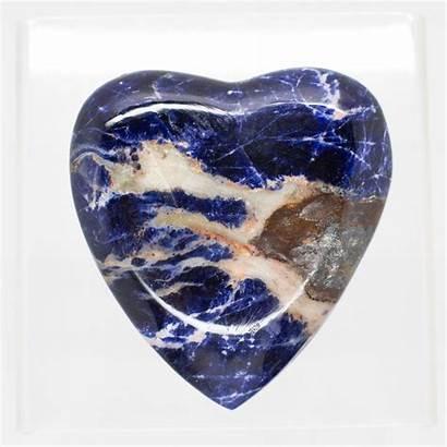 Sodalite Heart 2285 Crystals