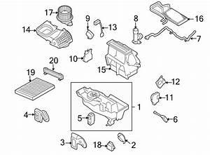 Ford Taurus Evaporator  Case  Core  And