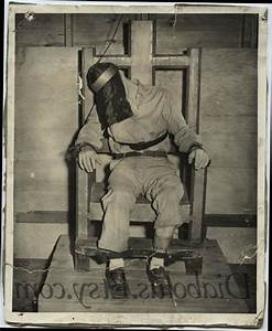 The gallery for --> Electric Chair Execution Preparation