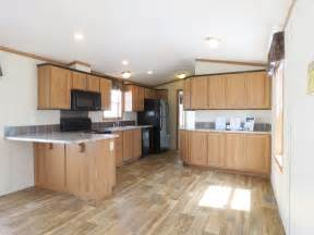 Single Wide Mobile Home Kitchen