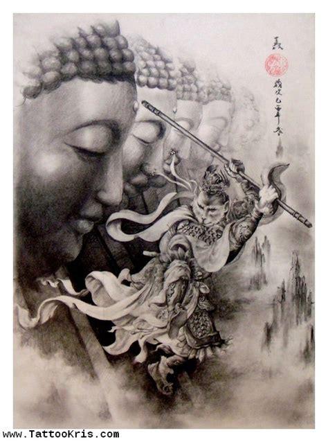 famous gautama buddha tattoo designs
