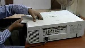 panasonic pt ew630 projector, problem is yellow on display ...