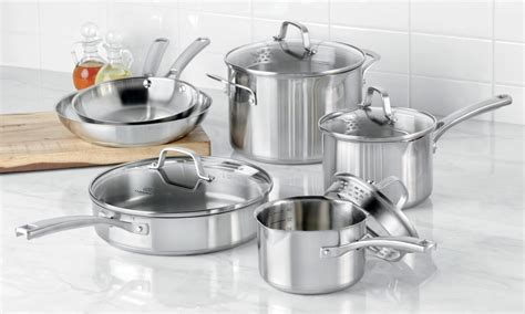 stainless cookware steel sets tips market buying kitchenware comparison piece
