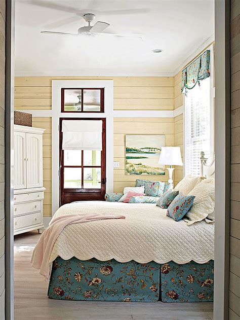 country bedroom ideas  homes gardens
