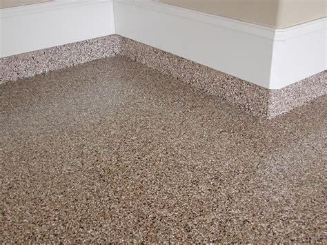 Epoxy Broadcast Flooring - Advanced Concrete Coatings
