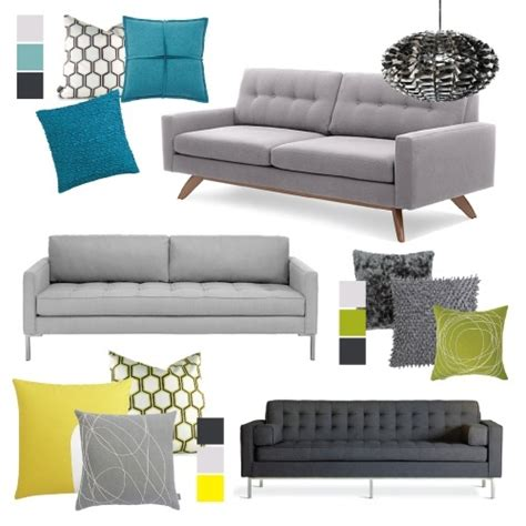 accent pillows for grey sofa 126 best images about living room decor on pinterest