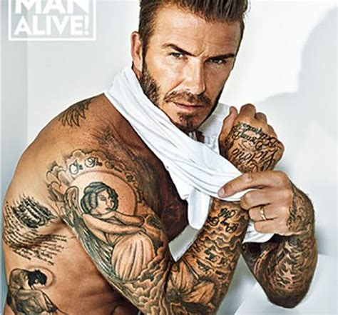 1000+ Ideas About David Beckham Tattoos On Pinterest