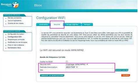 comment trouver le code wifi d une bbox