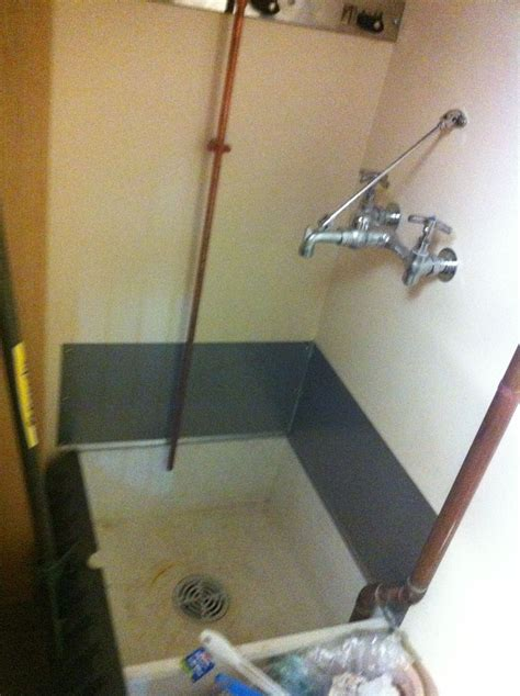 buckland library sink  janitors closet erving library improvement utility closet