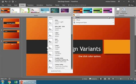 powerpoint modify template how to modify powerpoint templates with slide design variants