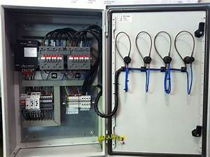 Metal Three Phase Auto Change Over Panel  Ip Rating  Ip55