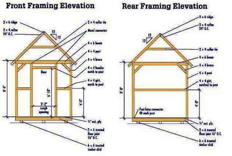 shed plans 8x10 pdf 8 215 10 storage shed plans blueprints for constructing a