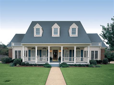 Symmetrical House Plans by Symmetrical Creole 55067br Architectural Designs