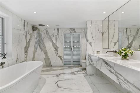 achieve luxurious luminance  calacatta marble