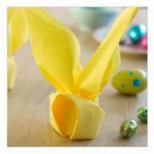 Pliage Serviette Lapin Simple : pliage de serviette en forme de lapin la belle adresse ~ Melissatoandfro.com Idées de Décoration
