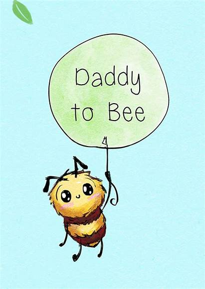 Ecard Bumbles Bee Daddy Happy Cards Tree