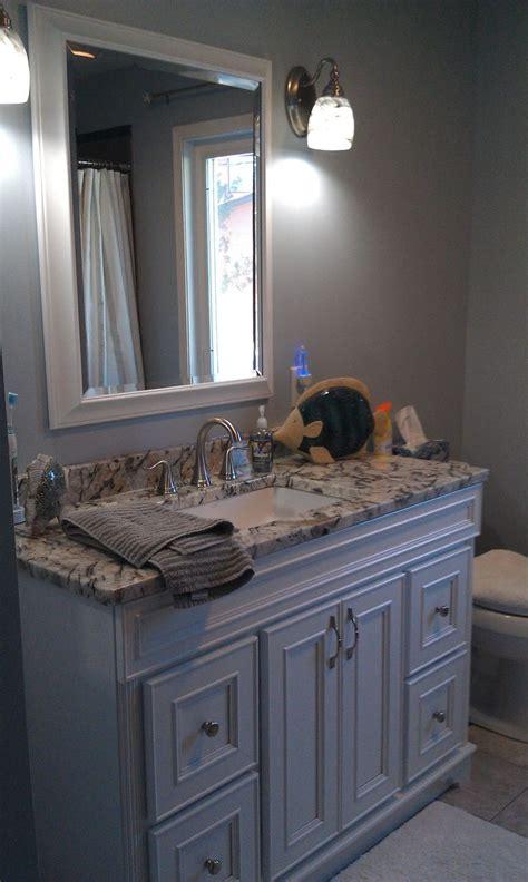 gray and blue bathroom bathroom design