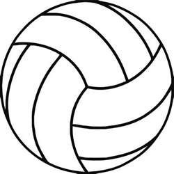 A Volleyball - ClipArt Best