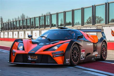 ktm  bow gt race car front photo adria raceway