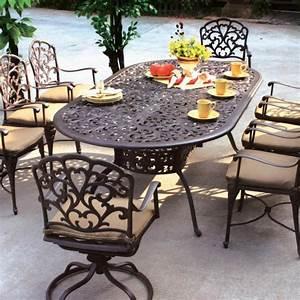 Table Fer Forgé Jardin : table jardin fer forge homeezy ~ Teatrodelosmanantiales.com Idées de Décoration