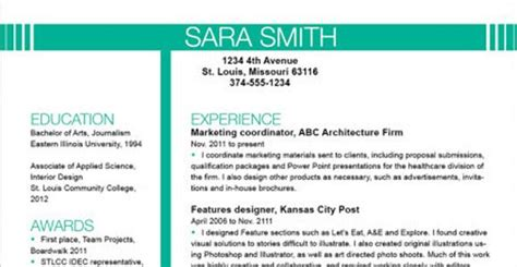 the 41 best resume templates template