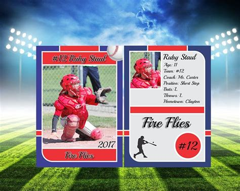 Sports Trading Card Templet Craft Ideas Best 25 Trading Card Template Ideas On Artist