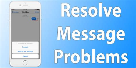 can t send messages on iphone how to fix can t receive send messages on iphone unlockboot
