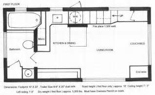 Micro Homes Floor Plans by Floor Plans Tiny House