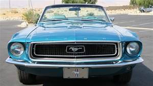 Classic 1968 Ford Mustang Convertible J Code 302 V8 4