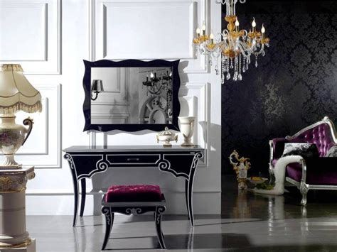 black makeup vanity table with lighted mirror black makeup vanity table with lighted mirror and