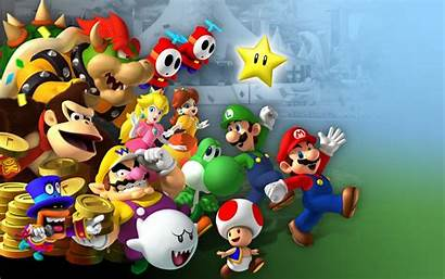 Wallpapers Mario Wallpapers9 Party Super
