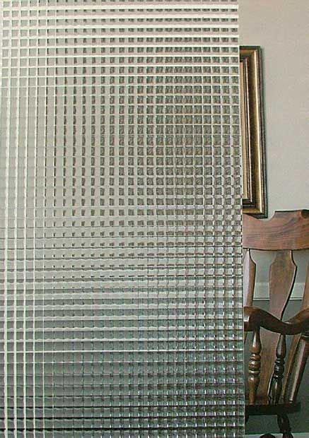 cross reeded glass detail room divider walls glass