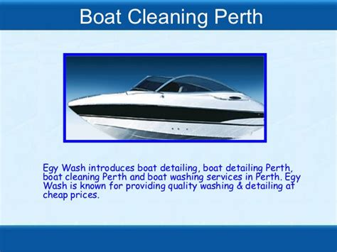 Boat Wash Perth boat cleaning perth