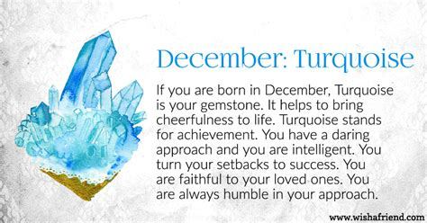 Your Birth Stone Is December