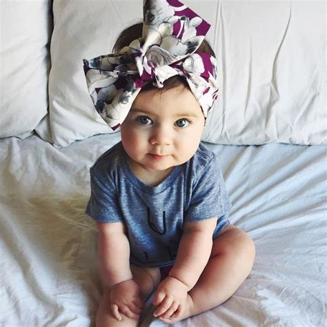 Bows, Big bows and Babies on Pinterest