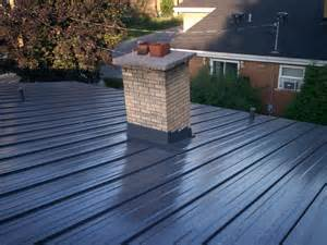 Metal Roof Chimney Flashing Mackey Metal Roofing Installed Metal Roof Chimney Flashing