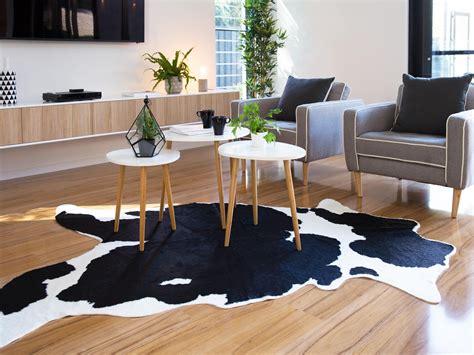 Cowhide Rug Living Room : Mocka Faux Cowhide Rug