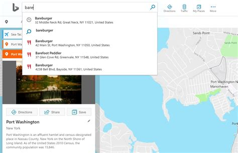 Recent Searches Now Available in Bing Maps Autosuggest