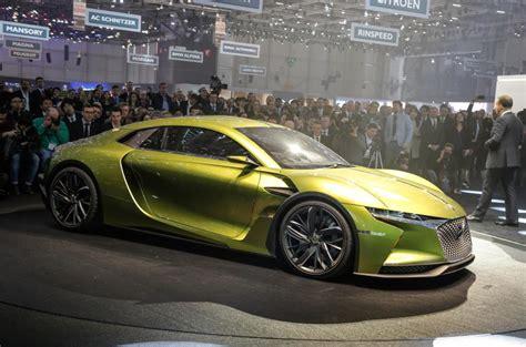 ds  tense electric concept car revealed  geneva motor