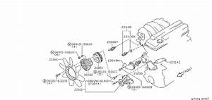 Nissan Stanza Engine Coolant Temperature Sensor  Jecs