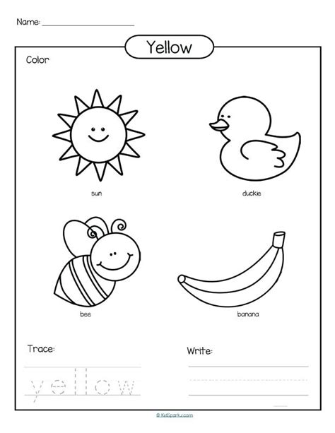 colors coloring pages  preschool  getcoloringscom