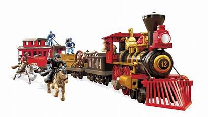Train Heist Mega Construx Viking Probuilder Toys