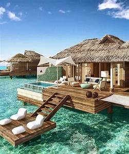 these overwater hotel suites are insane all inclusive With honeymoon huts over water