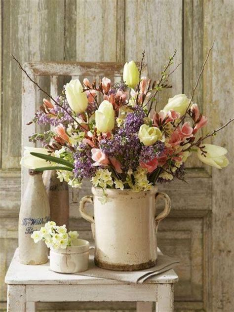 country spring bouquet pictures   images