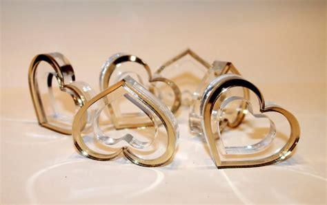 wedding napkin ring in gold heart gold napkin rings gold