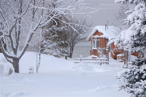 Cottage, Winter, Desktop, Background, Full, Screen, High