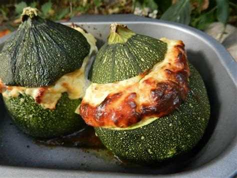 cuisiner courgettes rondes recettes courgettes rondes