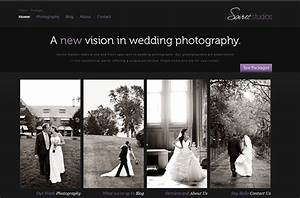 well designed photography websites 121clickscom With wedding photography sites